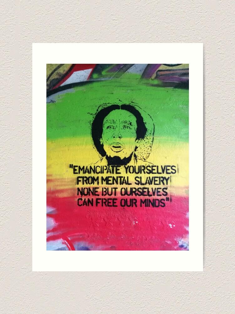 Alternate view of Emancipate yourself Art Print