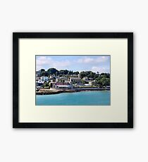 The Royal Yacht Squadron. Cowes, Isle of Wight. UK. Framed Print