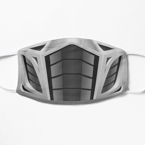 Mortal Mask Silver Flat Mask