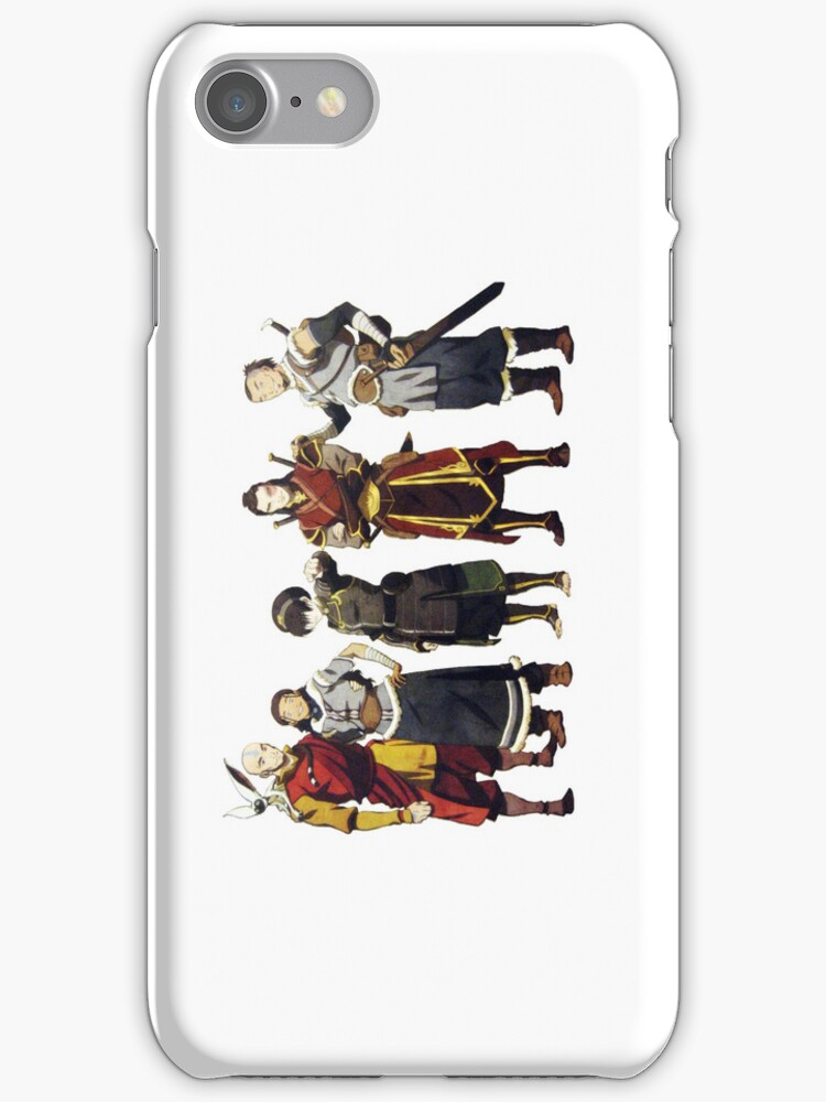 Avatar Old Friends iPhone Case by jereeebear