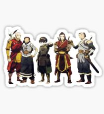Avatar Old Friends Sticker