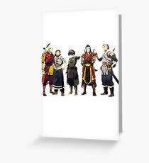 Avatar Old Friends Greeting Card
