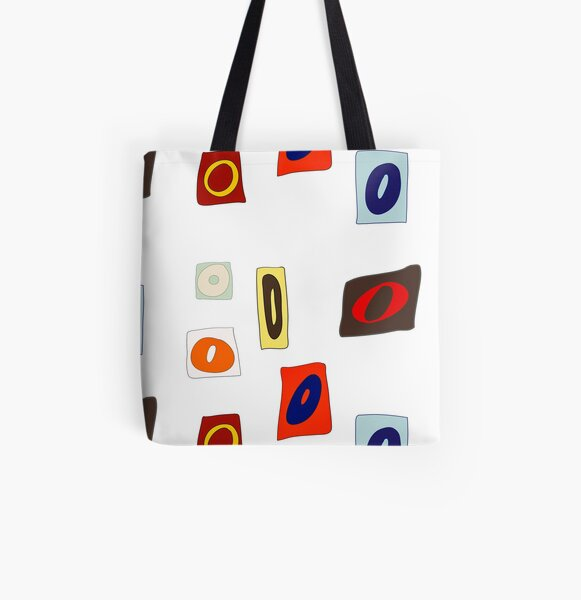 Ransom note letters Oo All Over Print Tote Bag
