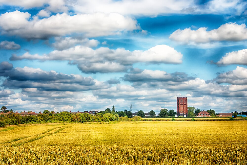 Finedon Water Tower by Vicki Field