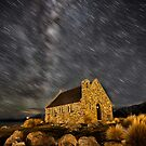 Tekapo Star Trails by Maxwell Campbell