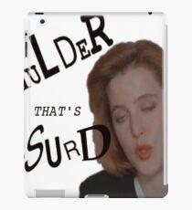 Mulder That's Absurd iPad Case/Skin