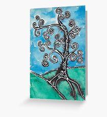 Tree 2 Greeting Card