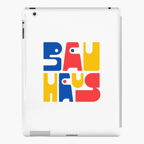 Bauhaus Letters Blue Red Yellow #1 iPad Snap Case