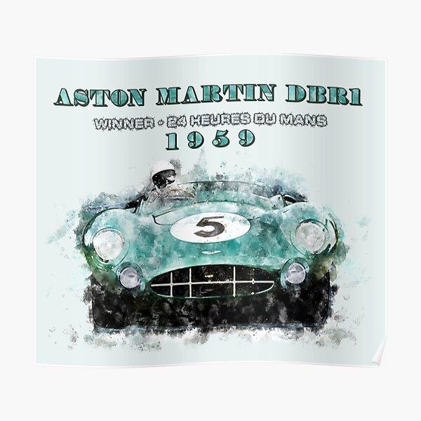 Le Mans 1959 Aston Martin - RACE0004 Poster