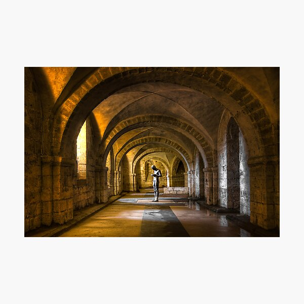 The Man in The Crypt Photographic Print