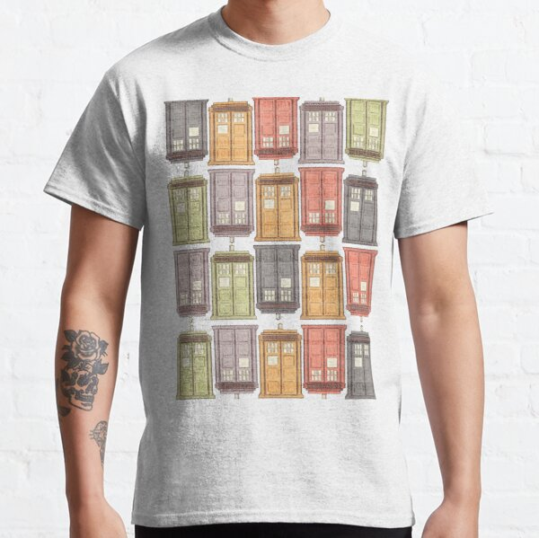 Assorted Police Boxes Classic T-Shirt