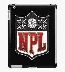 Nerd Poker League iPad Case/Skin
