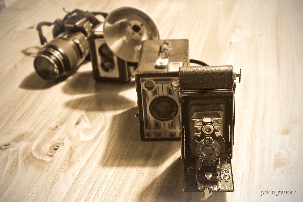 Cameras by pennyswork