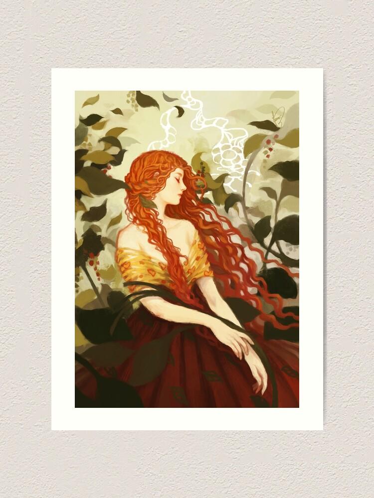 Alternate view of Ophelia Art Print