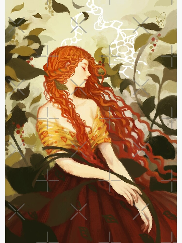 Ophelia by JanainaArt