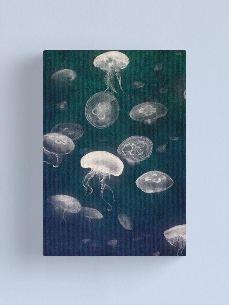 Alternate view of Jellyfish Canvas Print