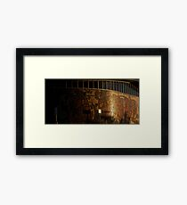 Old Queensland Library - Mosaic Framed Print