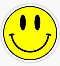 Acid House Smile Face Sticker