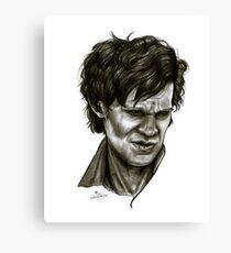 """Choices"" (Matt Smith/Doctor Who) Canvas Print"
