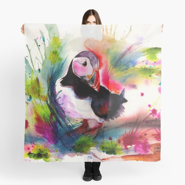 Puffin Scarf