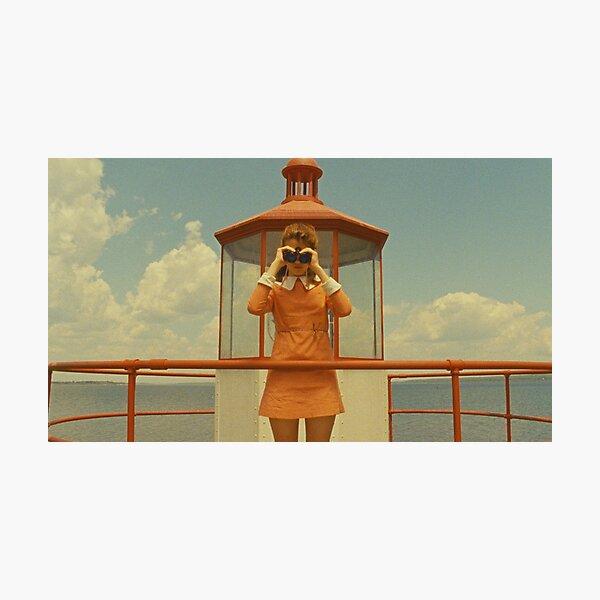Moonrise Kingdom - Suzy Binoculars Photographic Print