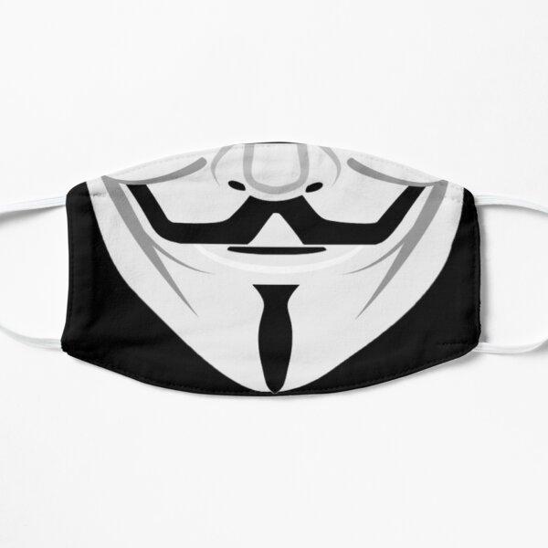 Guy Fawkes Anonymous Parody Graphic Coronavirus Mask Design Flat Mask