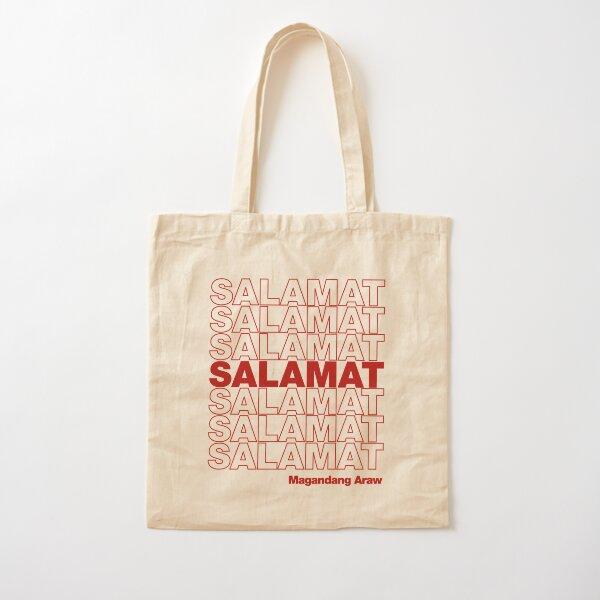 Salamat Philippines T-shirt Cotton Tote Bag