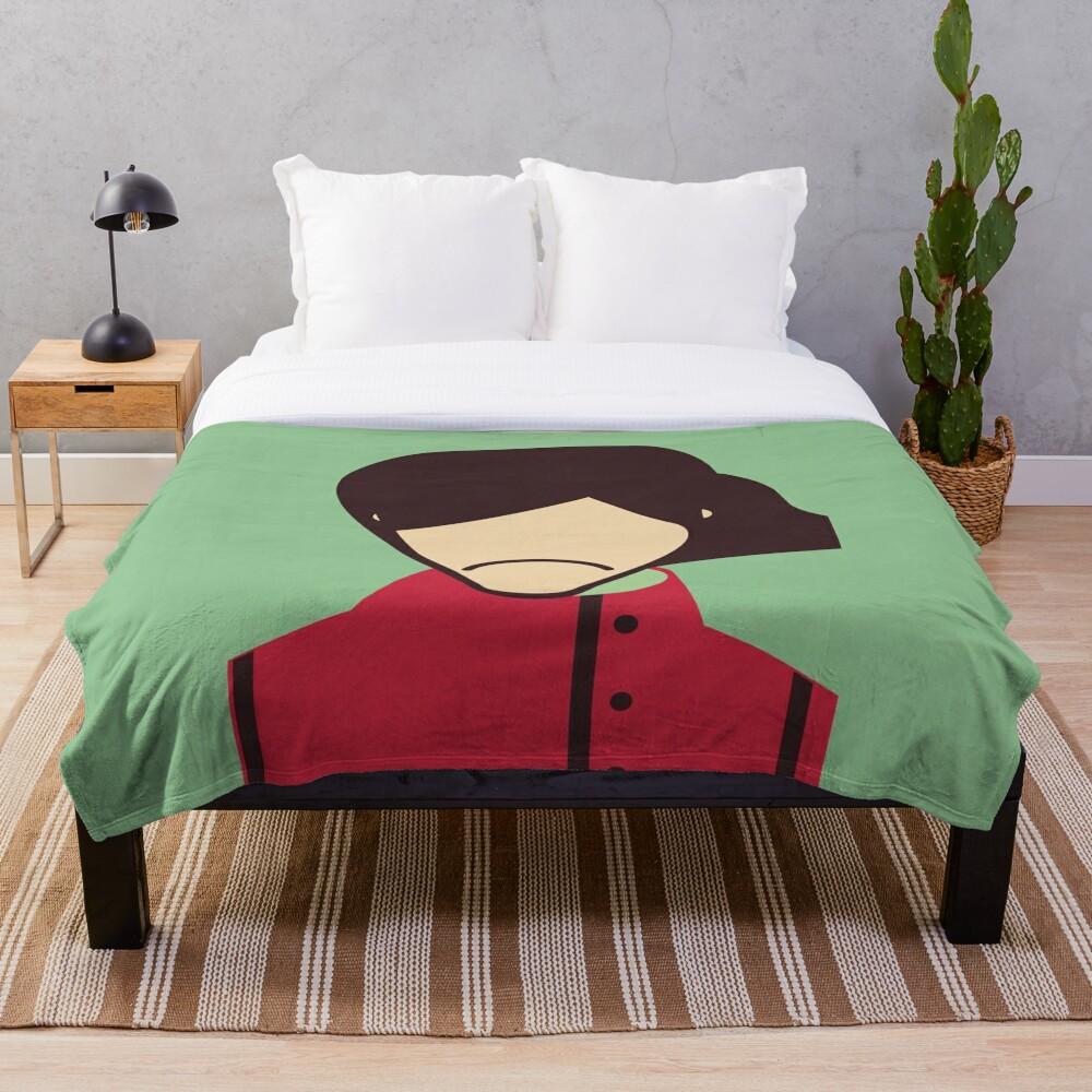 George - Minimalist Throw Blanket