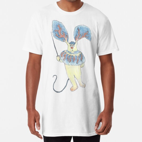 Fencing Rabbit Monster Long T-Shirt