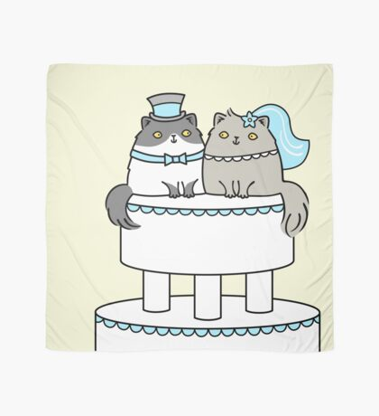 Kitty Cat Wedding Scarf