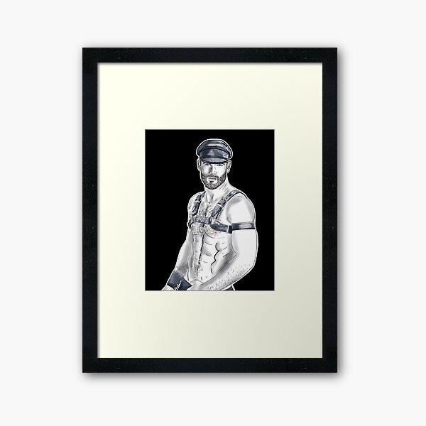 Gear Guy Framed Art Print