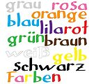 German colour words by Morag Anderson