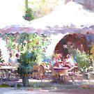 Terrace on the sunshine  by vasenoir
