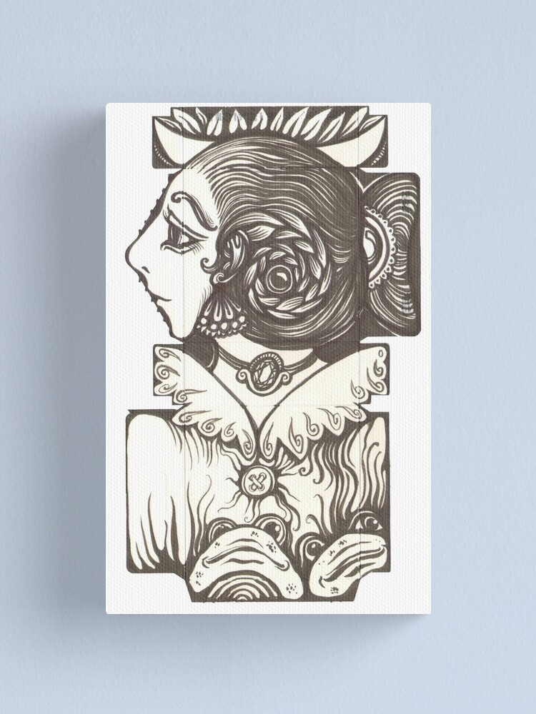 Alternate view of Toad Lady Canvas Print