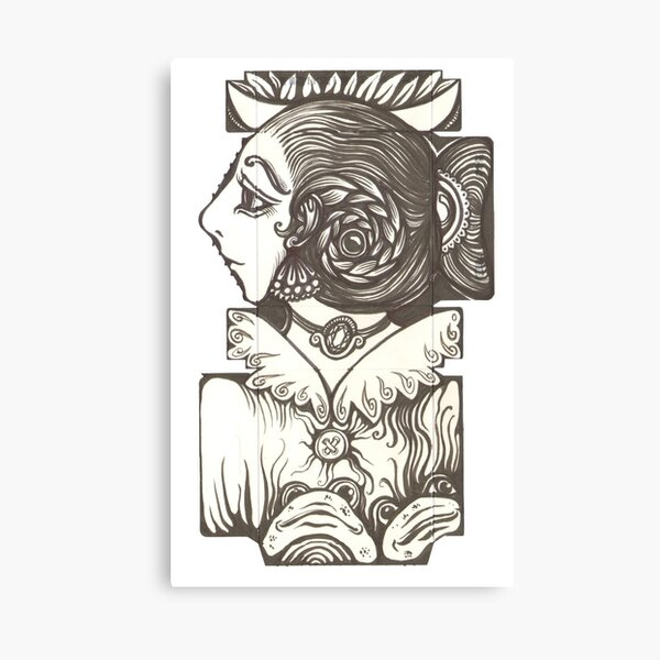 Toad Lady Canvas Print