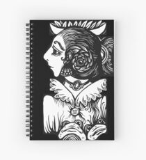 Toad Lady Spiral Notebook