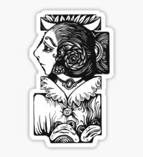 Toad Lady Sticker
