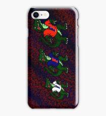 Albert Gator iPhone Case/Skin