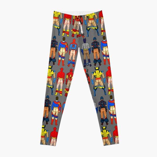 Superhero Butts Leggings