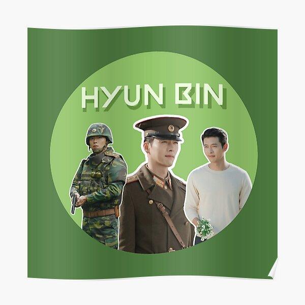 Hyun Bin Crash Landing On You  Poster
