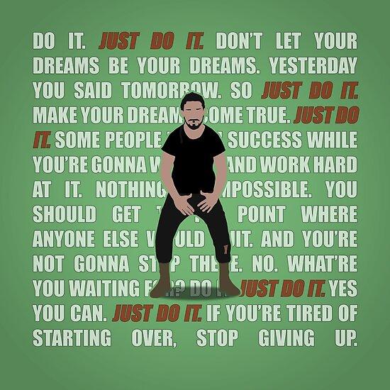 Just Do It by ShadyEldarwen