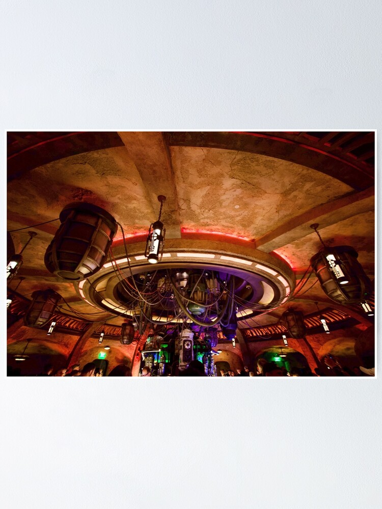 Alternate view of Oga's Cantina Ceiling Poster
