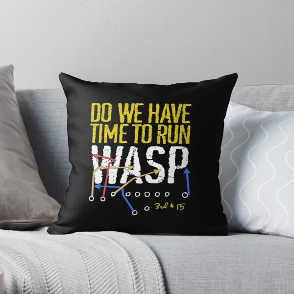Do We Have Time to Run WASP? Kansas City turning point for Chiefs Throw Pillow