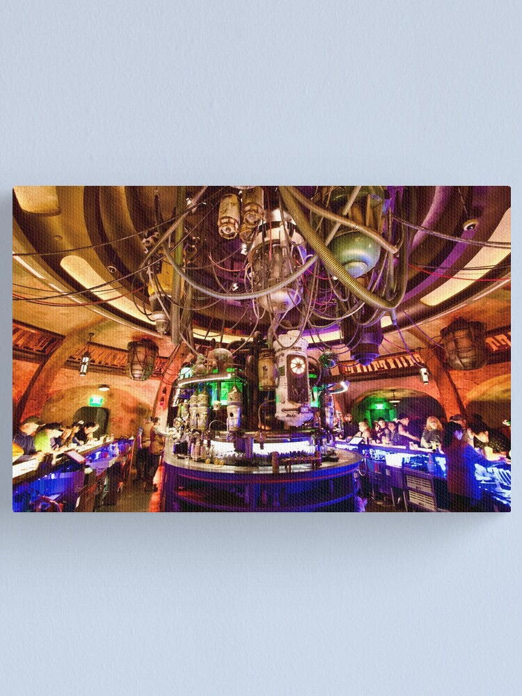 Alternate view of Oga's Cantina Canvas Print