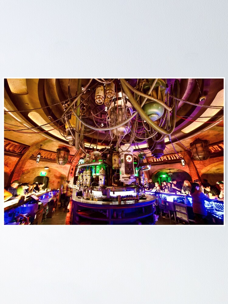 Alternate view of Oga's Cantina Poster