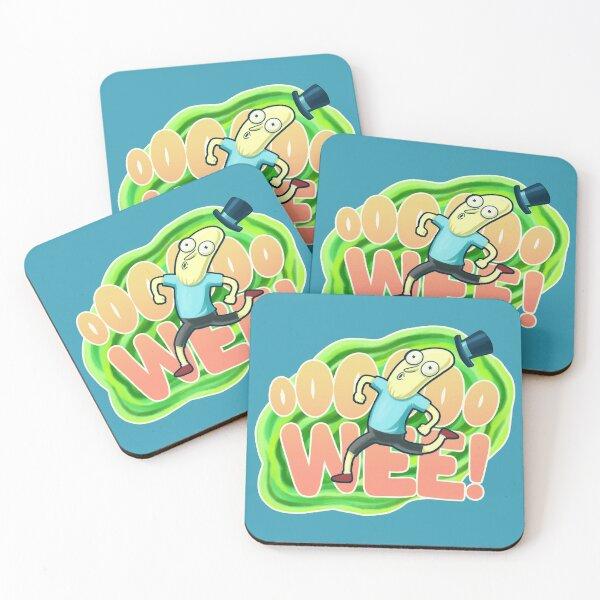 Ooooo-wee! It's Mr. Poopybutthole! Coasters (Set of 4)