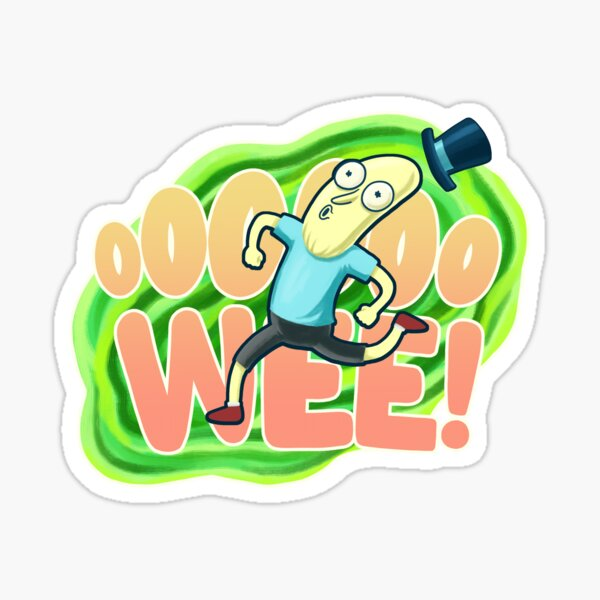 Ooooo-wee! It's Mr. Poopybutthole! Sticker