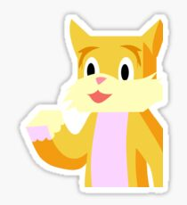 Stampy cat stickers redbubble minecraft youtuber stampy cat sticker altavistaventures Image collections