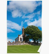 Building, Church, Mouswald, Dumfriesshire, Scotland, Poster