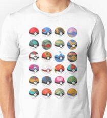 Pokéball 1 Slim Fit T-Shirt